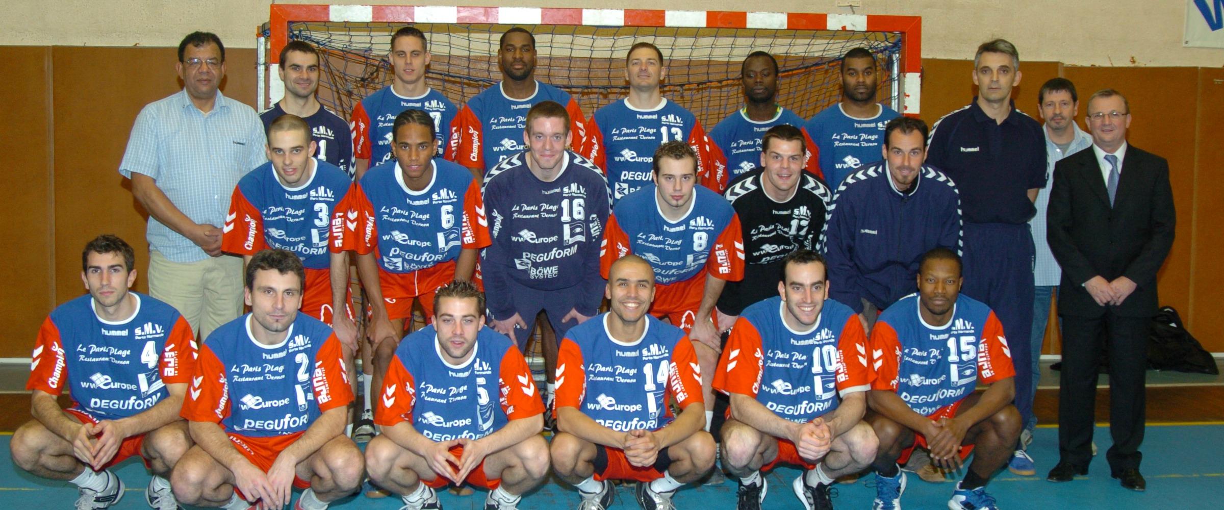 Slavisa Djukanovic - SMV Porte Normande - Equipe Handball Saison 2005-2006