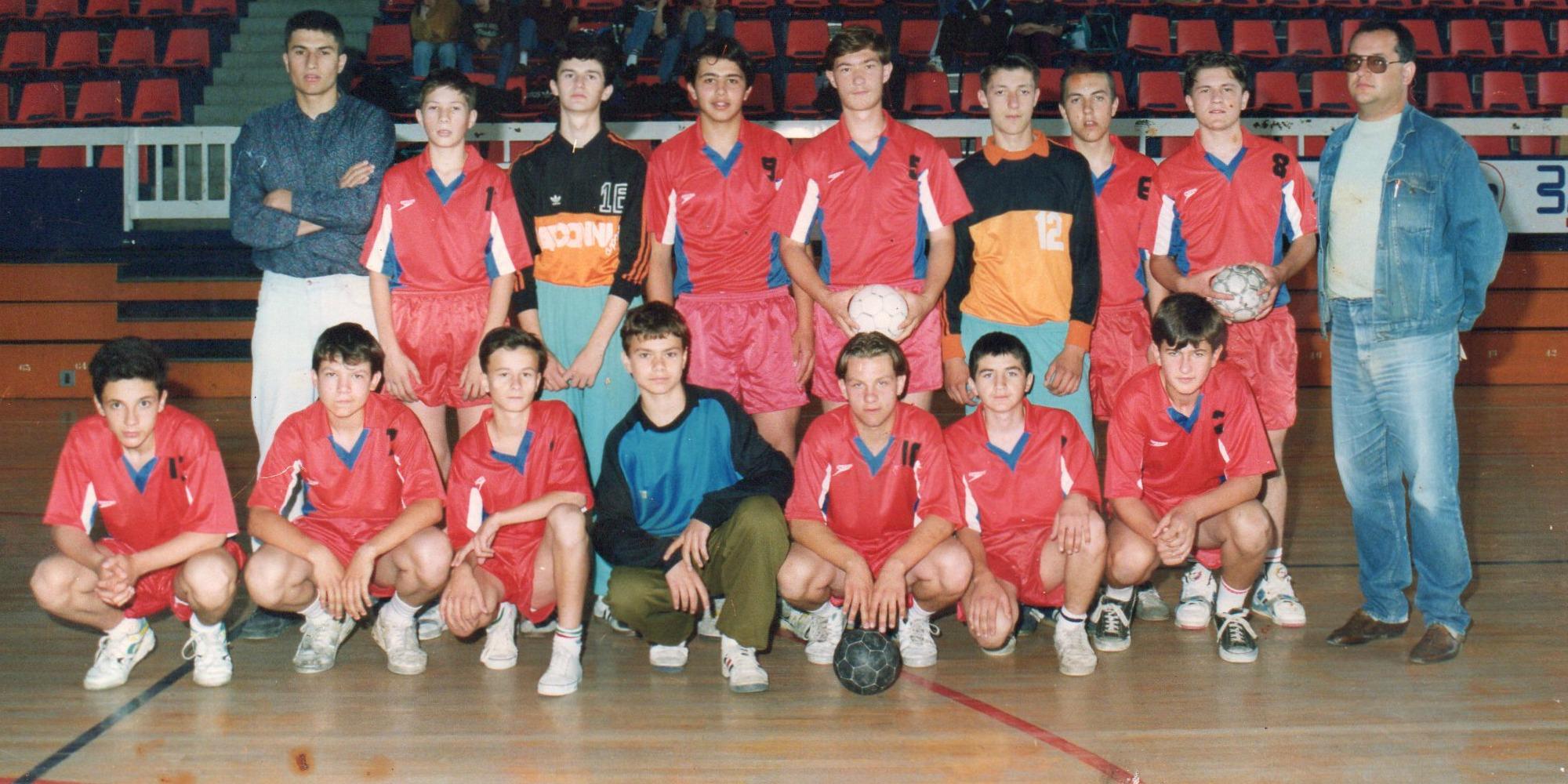 Slavisa Djukanovic Handball Team Baric Serbie