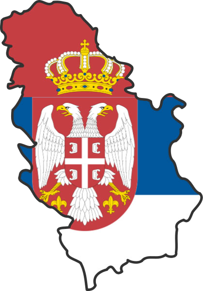 Slavisa Djukanovic | Serbie Carte et Drapeau