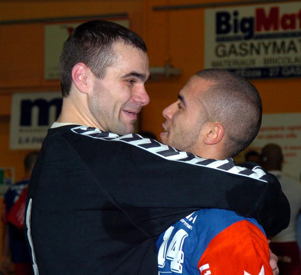 Slavisa Djukanovic | Handball Goalkeeper et Kacem Ouadah - 29 janvier 2006 by S. Fillastre
