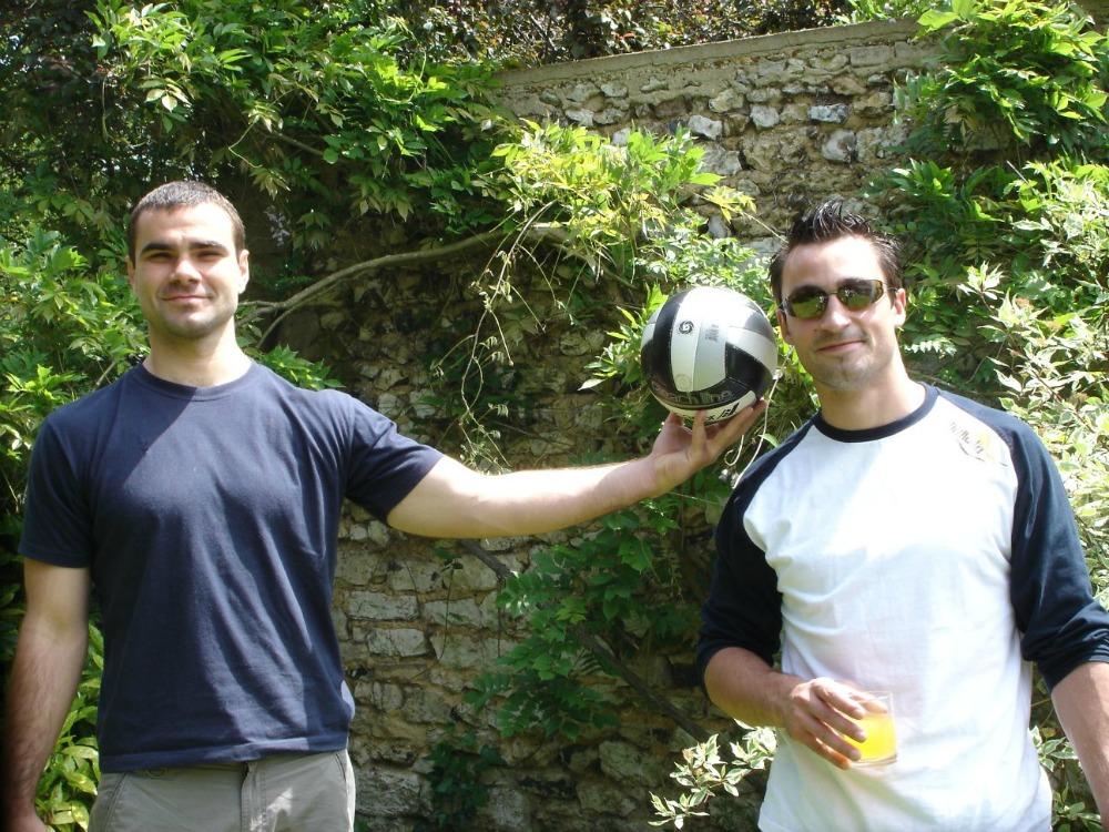 Slavisa Djukanovic | Handball Goalkeeper et Romain Roubenne - Girondins Bordeaux 2006