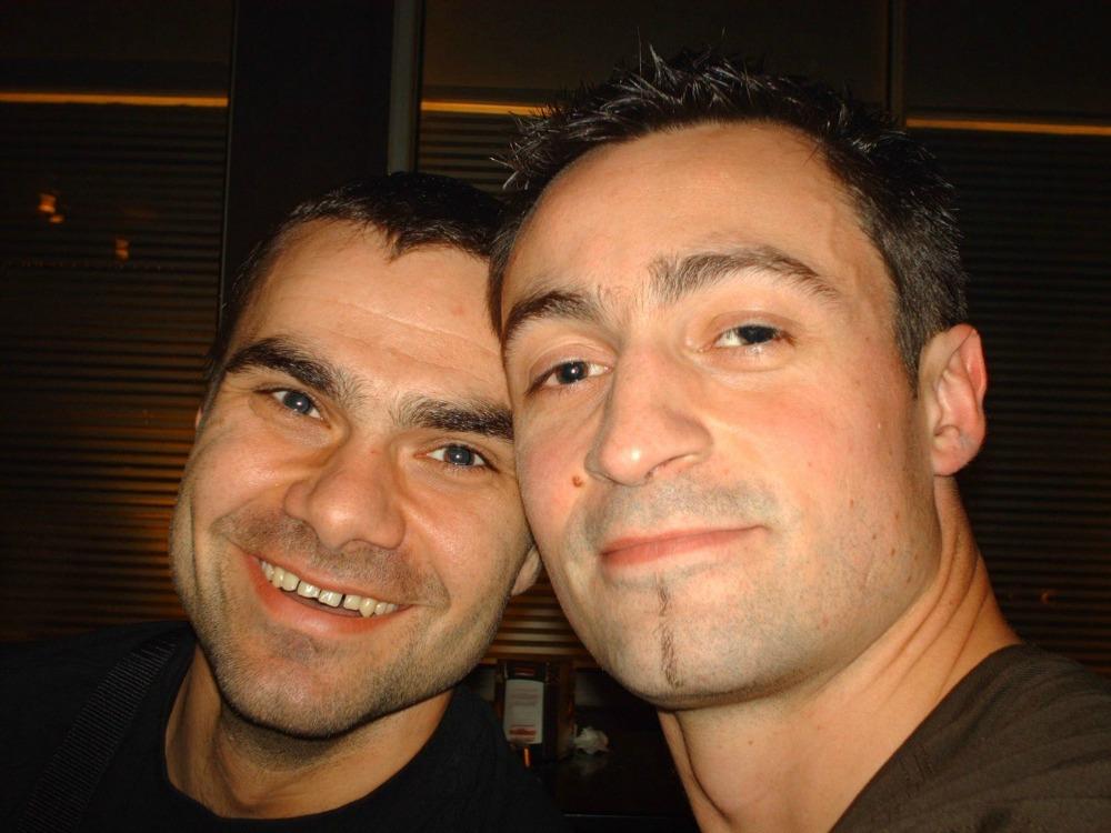Slavisa Djukanovic | Handball Goalkeeper et R. Roubenne - Girondins Bordeaux 2006